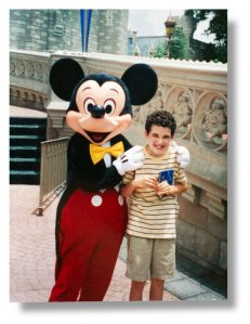 Image Credit: A 12-year-old Owen at Walt Disney World. Credit From the Suskind family