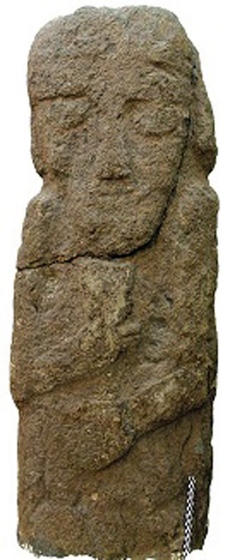 (One of burial statues found at the site. Image Credit: Dlshad Marf Zamua)