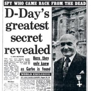 Greatest Secret GARBO Headline