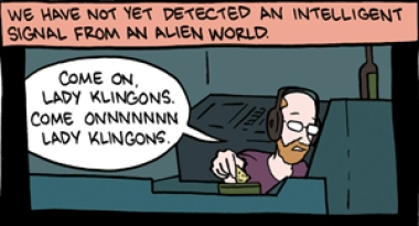Lady Klingons Fermi Paradox