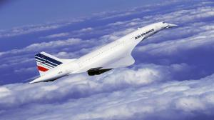 Concorde in flight