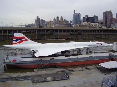 Concorde at USS Intrepid