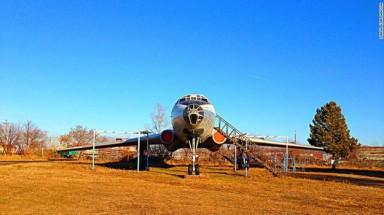Tu104A in restoration