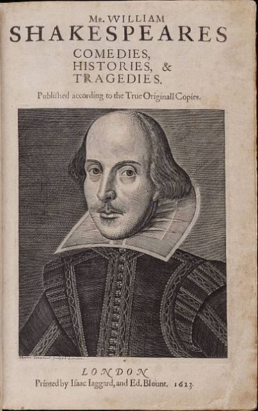 376px-Title_page_William_Shakespeare's_First_Folio_1623