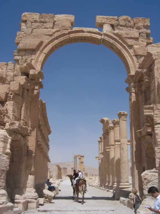 Triumphal Arch at Palmyra