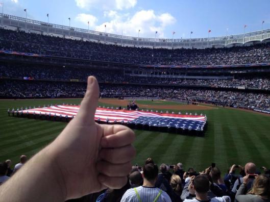 Yankee Stadium Opening Day 2013