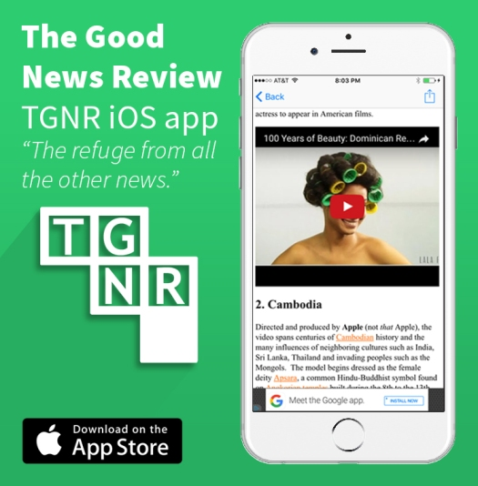 Click here to download TGNR's free mobile app for iOS.
